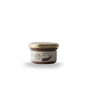 Tapenades aux Olives Lucques noires