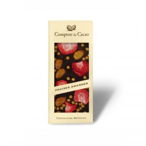Tablette chocolat fraises...