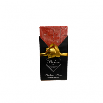 Tablette artisanale Pichon praline rose