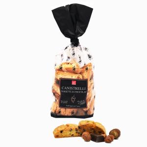 Canistrelli noisettes chocolat