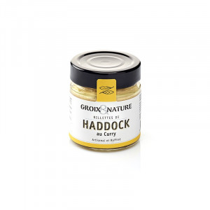 Rillettes de haddock au curry