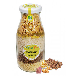 Kit recettes Koshari (Egypte)