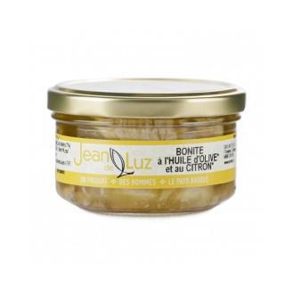 Bonite à l'huile d'olive et citron