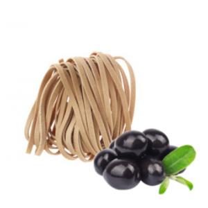 Tagliatelles olives noires
