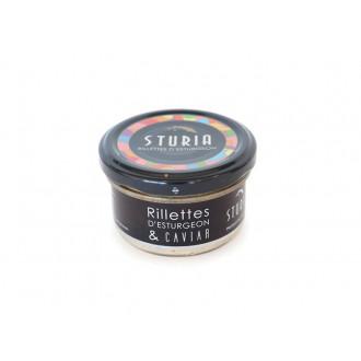 Rillettes d'Esturgeon au Caviar
