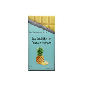 Tablette de fruit à l'ananas