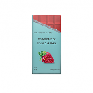 Tablette de fruit à la fraise