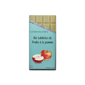 Tablette de fruit à la pomme